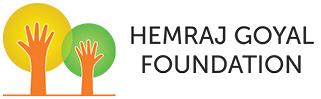 Hemraj Goyal Foundation Logo